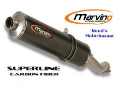 Marving uitlaatdemper Superline Carbon CB600F 2000-2002