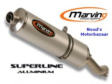 Marving uitlaatdemper Superline Aluminium CB600F 2003-2005